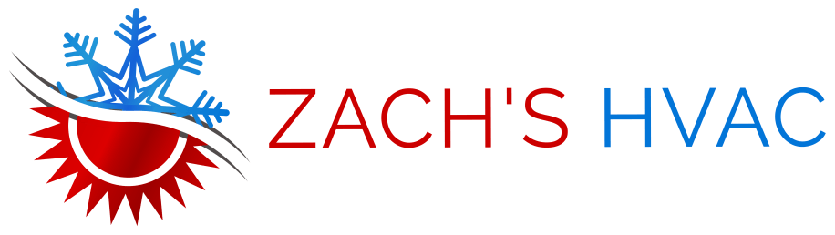 Zach's HVAC - Wide Logo